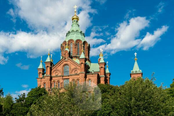 Helsinki, Uspensky Cathedral, Russian Orthodox Church