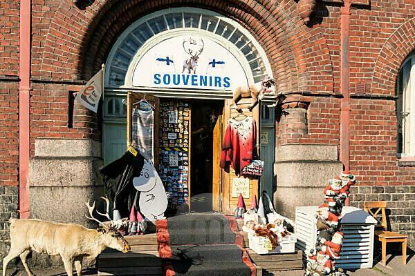 Helsinki, Souvenirgeschäft