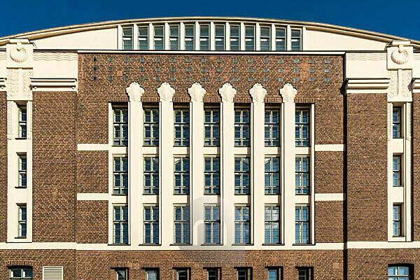 Helsinki, Art Deco facade, Hotel Grand Marina