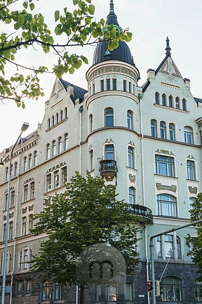 Helsinki, Pohjoisranta, Jugendstilfassade
