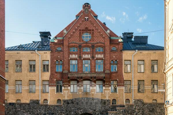 Helsinki, University, historical building of physiological institute, behavioral biology