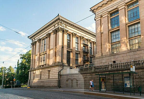 Helsinki, university, main building, side facade