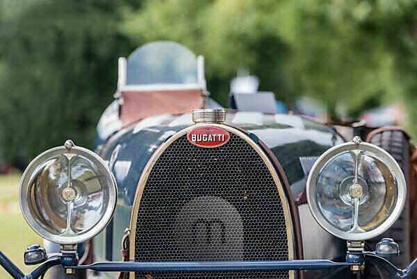 Bad König, Hesse, Germany, Bugatti 35A, built in 1927, 2 liter displacement, 55.9 KW KW at the Klassikerfestival.