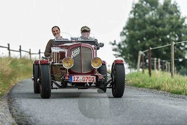 Bad König, Hessen, Deutschland, Simc-Fiat 6 CV Sport, Baujahr 1936, 995 ccm Hubraum, 24 PS beim Klassikerfestival.