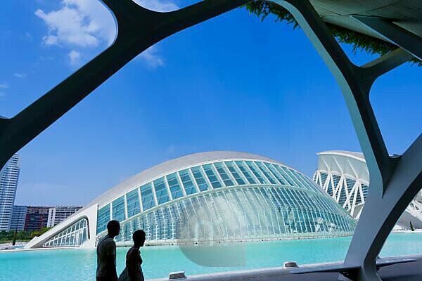 City of Arts and Sciences, Valencia, Comunidad Autonoma de Valencia, Spain