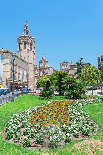 Plaza de la Reina, Valencia, Comunidad Autonoma de Valencia, Spain