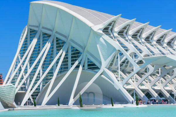 Principe Felipe Science Museum, City of Arts and Sciences, Valencia, Spain, Europe