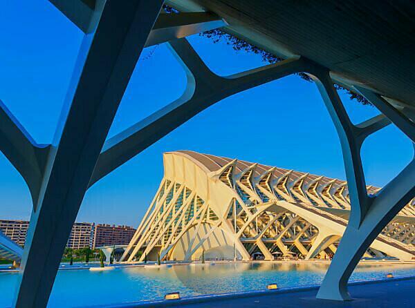 Principe Felipe Science Museum, City of Arts and Sciences, Valencia, Spain, Europe