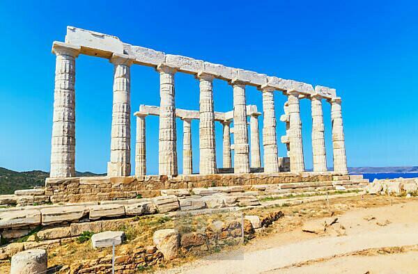 Temple of Poseidon, Cape Sounion, Attica, Greece