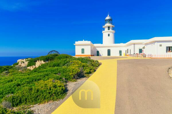 Cap de Cavalleria lighthouse, Menorca, Balearic Islands, Spain, Europe