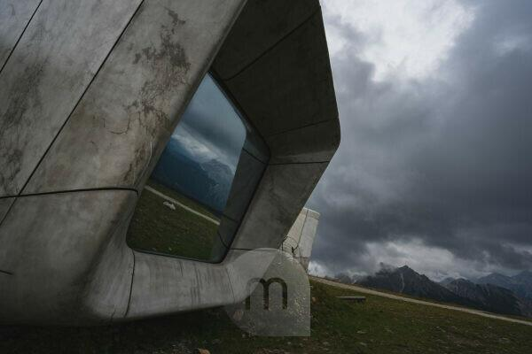 MMM Corones, Messner Mountain Museum, Plan de Corones, Local History Museum, Dolomites, South Tyrol, Italy, Europe