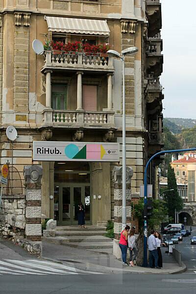 Impressions from Rijeka, the European Capital of Culture 2020, Croatia.
