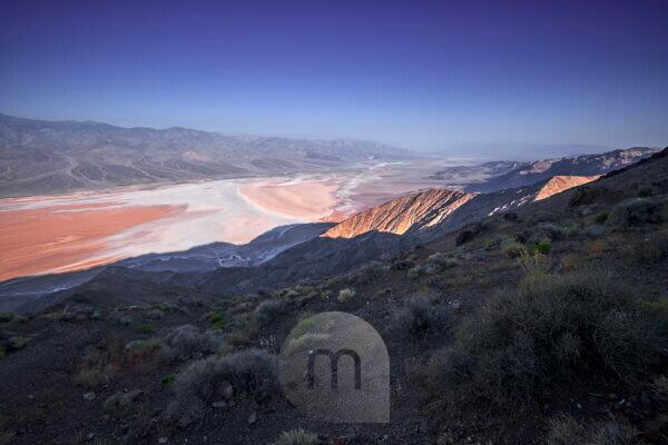 USA, United States of America, Nevada,  Death Valley National Park, Dantes View, Sierra Nevada, California