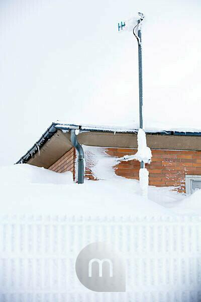 Winter, Wasserkuppe, frost, snow, drifts, Rhön, Hesse, Germany, Europe,