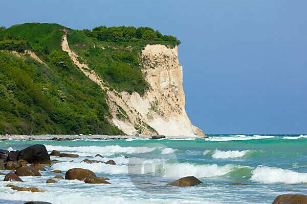 island of Rügen, Cape Arkona, cliffs, chalk cliffs