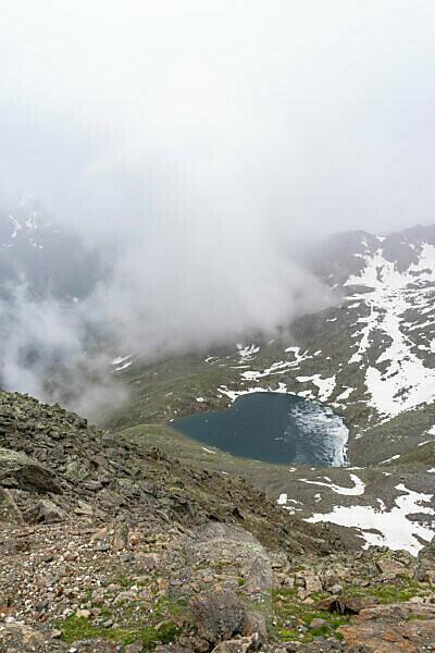 Europa, Österreich, Tirol, Ötztaler Alpen, Ötztal, Gaislachsee bei Sölden im Ötztal