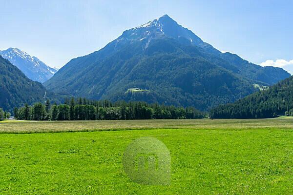 Europa, Österreich, Tirol, Ötztaler Alpen, Ötztal, Blick auf den Gamskogel im Ötztal
