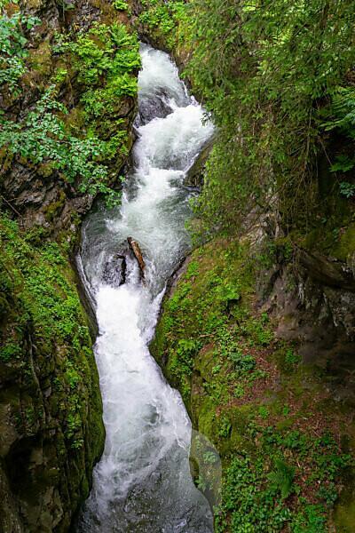 Europa, Österreich, Tirol, Ötztaler Alpen, Ötztal, Auerklamm bei Oetz im Ötztal
