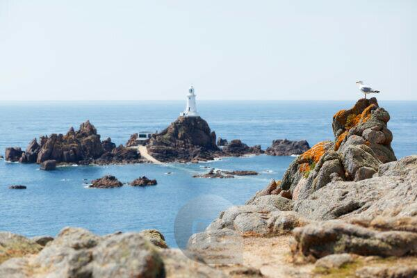 Jersey, La Corbiére lighthouse
